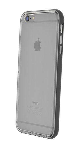 Puzdro 4-OK Flash Bumper Para iPhone 6 Plus, Čierna