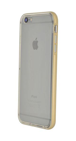 Puzdro 4-OK Flash Bumper Para iPhone 6 Plus, Zlatá