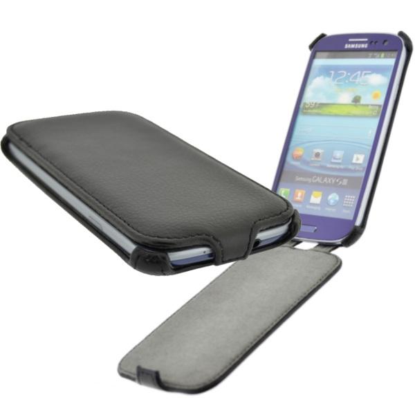 Puzdro 4-OK KLAP CASE pre HTC ONE - M7, black