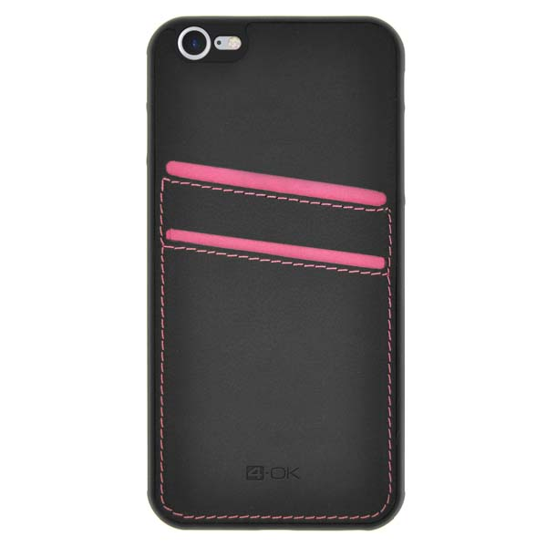Puzdro 4-OK Pocket Cover Pre iPhone 7, Ružová CPI7BP