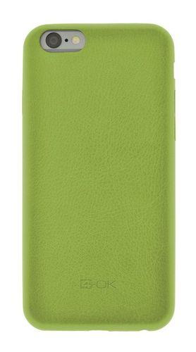 Puzdro 4-OK Second Skin Pre iPhone 6/ 6S, Zelená SKIP6V