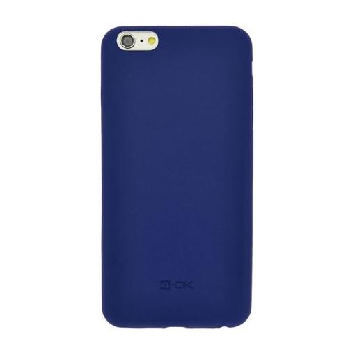 Puzdro 4-OK Second Skin Pre iPhone 6 Plus/ 6S Plus, Modrá
