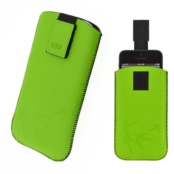 Puzdro 4-OK Up Colors Pre Samsung Galaxy S4/S3, HTC One, Zelená