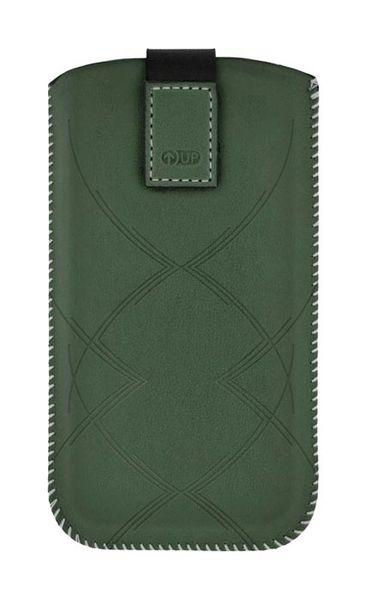 Puzdro 4-OK Up Premium Pre iPhone 5 /5S/5C, Zelená