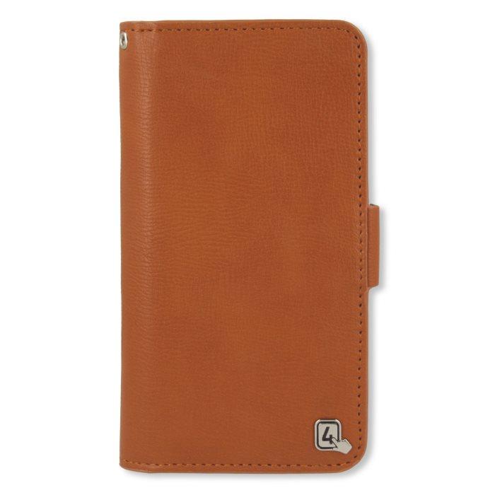 Puzdro 4smarts UltiMAG NORWALK pre Váš smartfón s uhlopriečkou do 5.2 palca, Brown
