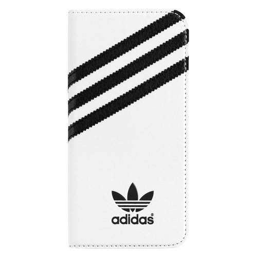 Puzdro Adidas Originals - Booklet pre Apple iPhone 6 Plus a Apple iPhone 6S Plus, White/Black