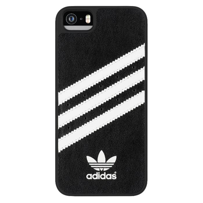 Puzdro Adidas Originals, Moulded pre Apple iPhone 5 a Apple iPhone 5S, BlackWhite