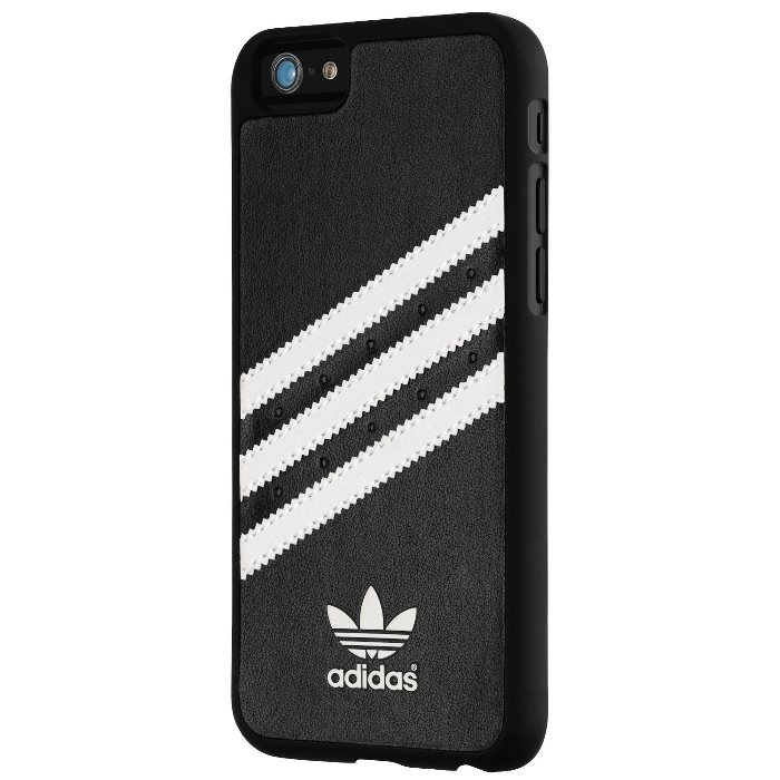 Puzdro Adidas Originals - Moulded pre Apple iPhone 6 a Apple iPhone 6S, Black/White