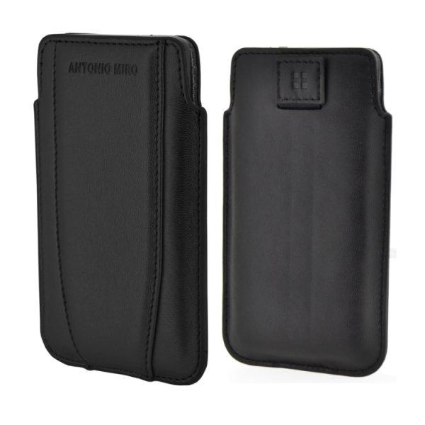 Puzdro Antonio Miro Up Case pre mobily do rozmerov 115x62x13mm, Black