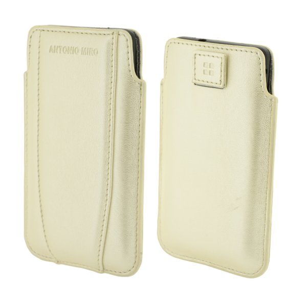 Puzdro Antonio Miro Up Case pre mobily do rozmerov 122x68x12mm, White