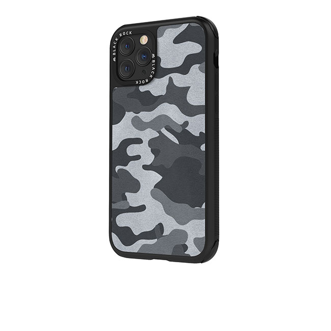 Puzdro Black Rock Robust Real Leather Camo pre Apple iPhone 11, Black