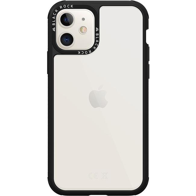 Puzdro Black Rock Robust Transparent pre Apple iPhone 11, Black