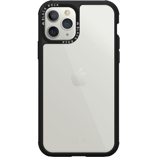 Puzdro Black Rock Robust Transparent pre Apple iPhone 11 Pro Max, Black