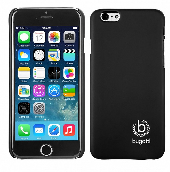 Puzdro Bugatti ClipOnCover pre Apple iPhone 6 Plus, black silk