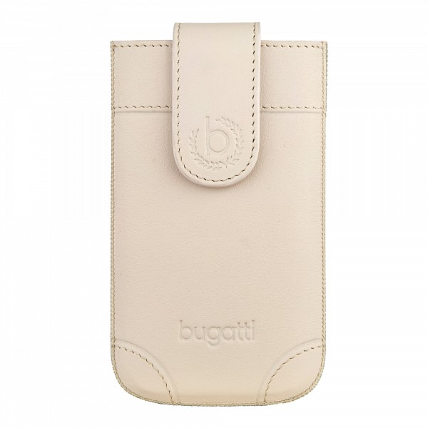 Puzdro Bugatti SlimCase London Universal Size ML, ivory