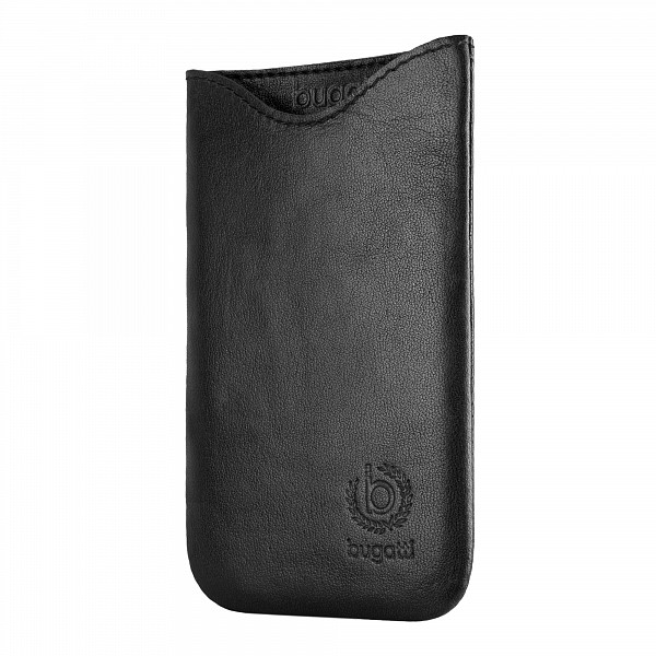 Puzdro Bugatti SlimFit Leather pre HTC One Mini, black