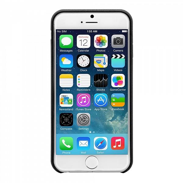 Puzdro Bugatti SoftCover Nice pre Apple iPhone 6 Plus, black 08769