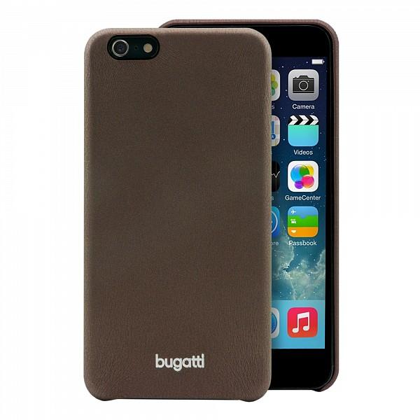 Puzdro Bugatti SoftCover Nice pre Apple iPhone 6 Plus, brown 08781