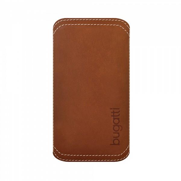 Puzdro Bugatti TwoWay Leather pre Apple iPhone 5 a 5S, brown 08060