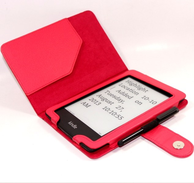 Puzdro C-tech Protect AKC-06 pre Amazon Kindle Paperwhite 1/2/3, Red
