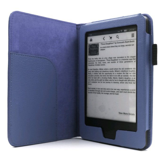 Puzdro C-TECH Protect AKC-08 pre Amazon Kindle 6 Touch, Blue