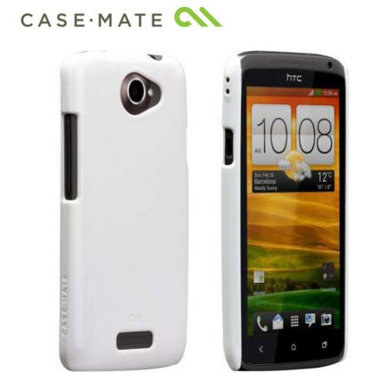 Puzdro Case Mate Barely There pre HTC ONE X, White