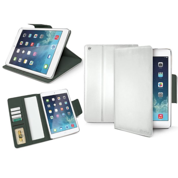 Puzdro CellularLine Celly Wally pre Apple iPad Air, White