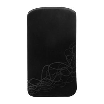 Puzdro Cellux Microfibre Pouch pre Huawei Ascend G300, BlackWaves