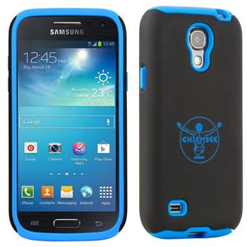 Puzdro Chiemsee ADAMELLO pre Samsung Galaxy S4 Mini - i9195 a i9190, Black/Blue