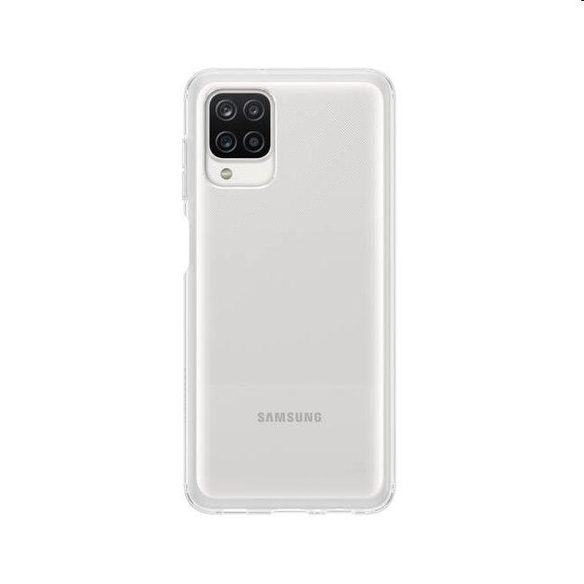 Puzdro Clear Cover pre Samsung Galaxy A12 - A125F, transparent (EF-QA125T)