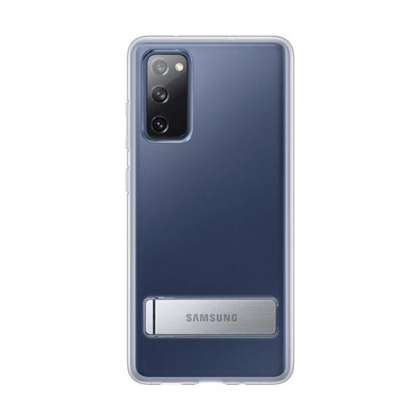 Puzdro Clear Standing Cover JG780CTEGEU pre Samsung Galaxy S20 FE - G780, transparent