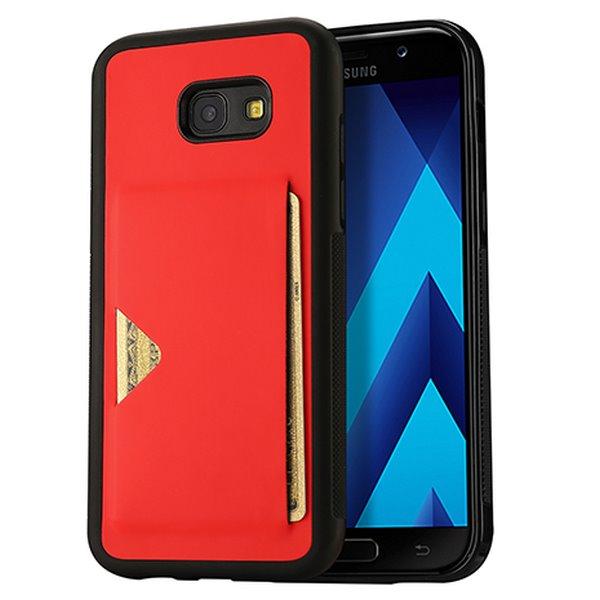 Puzdro Dux Ducis Pocard pre Samsung Galaxy A5 2017 - A520F, Red