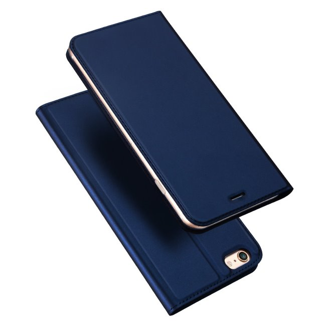 Púzdro Dux Ducis pre Huawei Y6 2019, tmavo modré 33300580