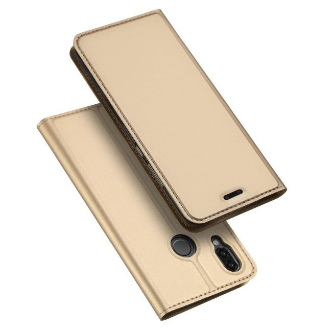 Púzdro Dux Ducis pre Huawei Y6 2019, zlaté 33300581