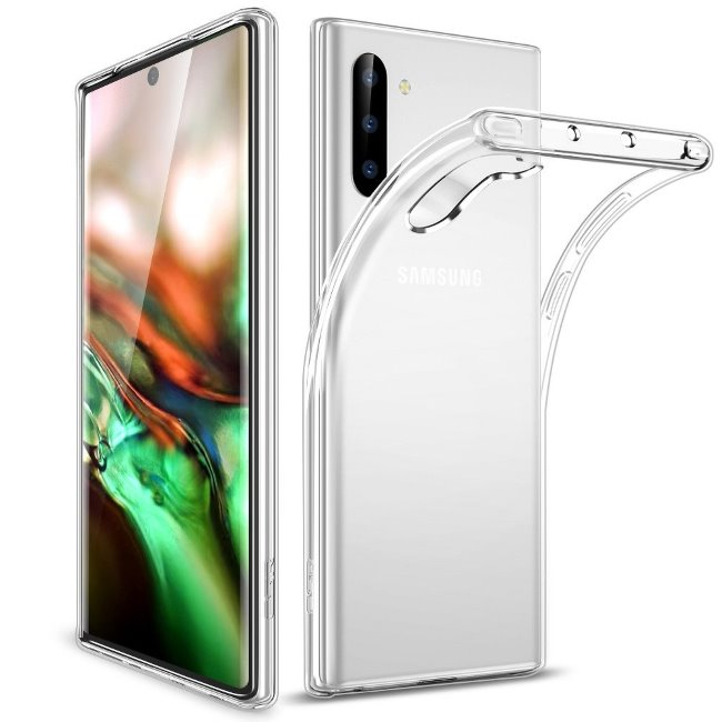 Puzdro ESR Essential Zero pre Samsung Galaxy Note 10 - N970F, Transparent 4894240089903
