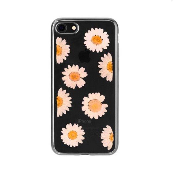 Puzdro FLAVR iPlate Real Flower Daisy pre Apple iPhone 6/6S/7/8/SE 2020