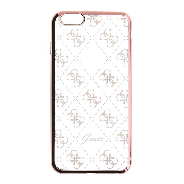 Puzdro Guess 4G pre Apple iPhone 7, Rose Gold