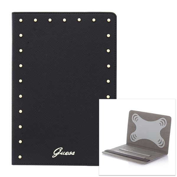 Puzdro Guess Studded pre PocketBook SURFpad 4 M, Black