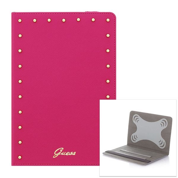 Puzdro Guess Studded pre Samsung Galaxy Tab 4 10.1 - T530, Pink