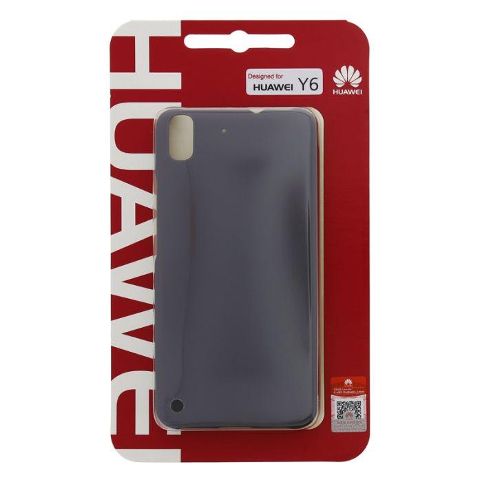 Puzdro Huawei Original Protective pre Huawei Y6, Black
