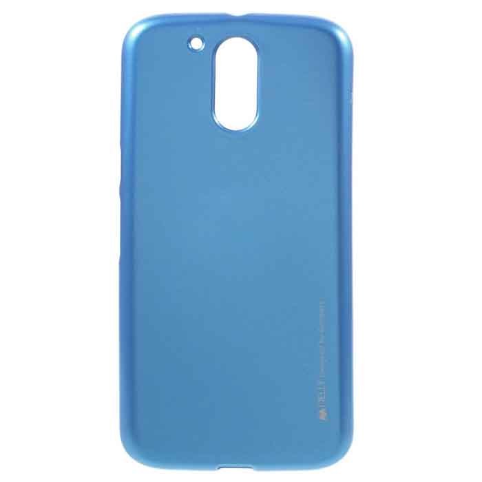Puzdro i-Jelly pre Lenovo Moto G5 Plus - XT1685, Blue 8595642296598