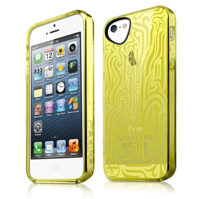 Puzdro ITSKINS Ink pre Apple iPhone 5, 5S a SE, Yellow