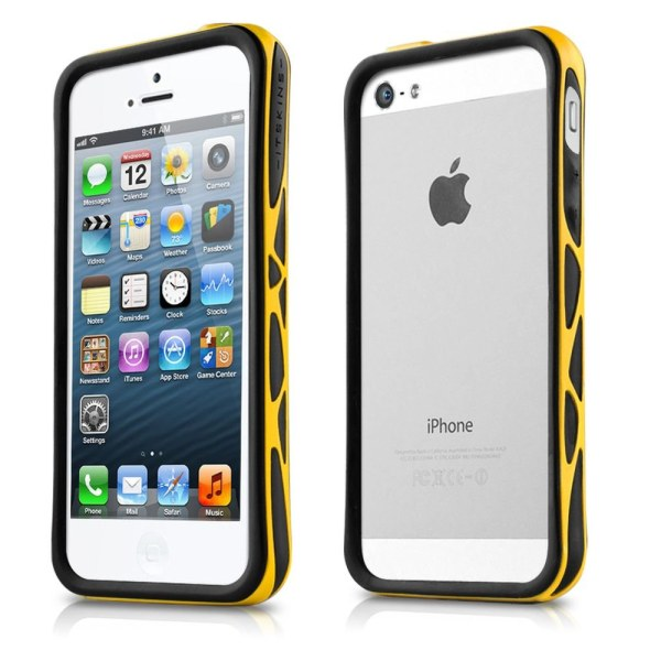 Puzdro ITSKINS Venum pre Apple iPhone 5, 5S a SE, BlackYellow