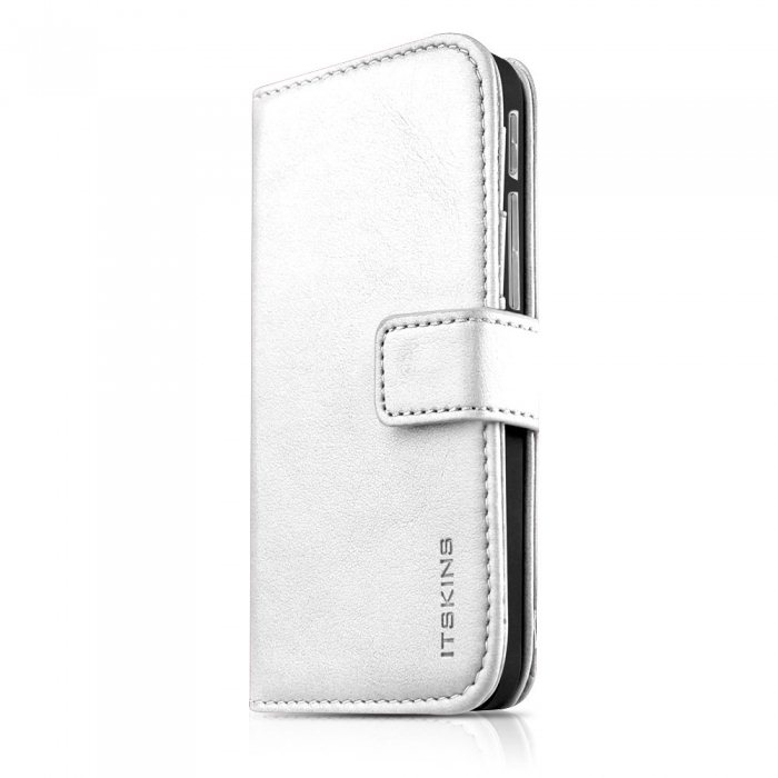 Puzdro ITSKINS WALLET BOOK pre HTC ONE - M8, White