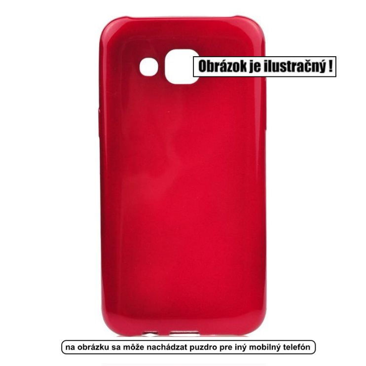 Puzdro Jelly Case Flash pre Microsoft Lumia 550, Red