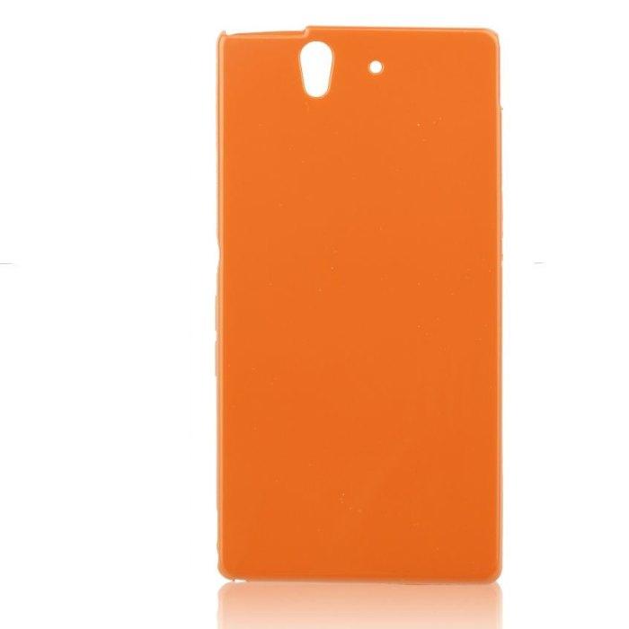 Puzdro Jelly Case pre Sony Xperia Z - C6603, Orange