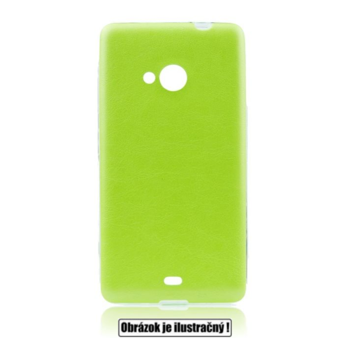 Puzdro Jelly Leather pre Samsung Galaxy Xcover 3 - G388F, Lime