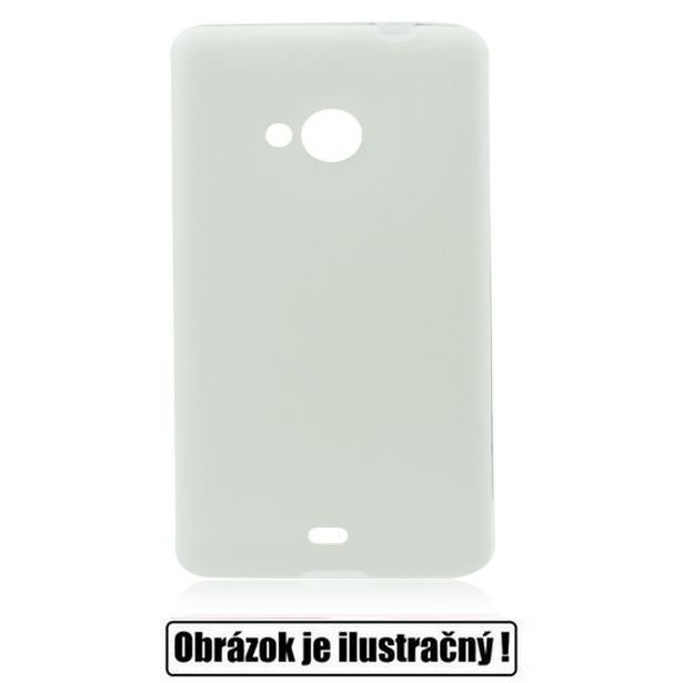 Puzdro Jelly Leather pre Sony Xperia M2 - D2303, White