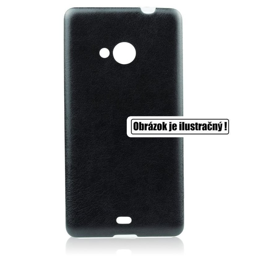 Puzdro Jelly Leather pre Sony Xperia Z3+ - E6553, Black