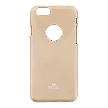 Puzdro Jelly Mercury pre Apple iPhone 6 a 6S, Gold